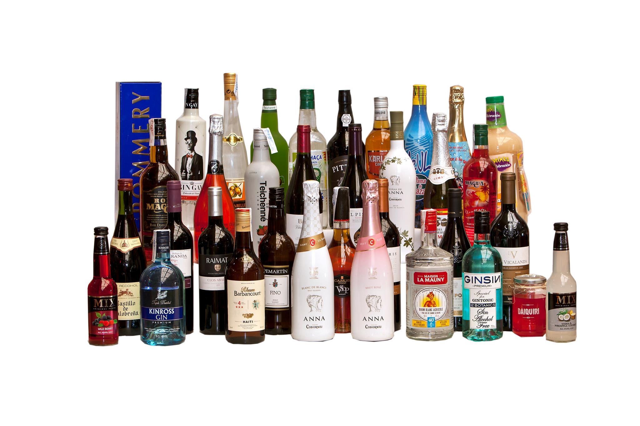 Productos de alimentación y bebidas en Tenerife