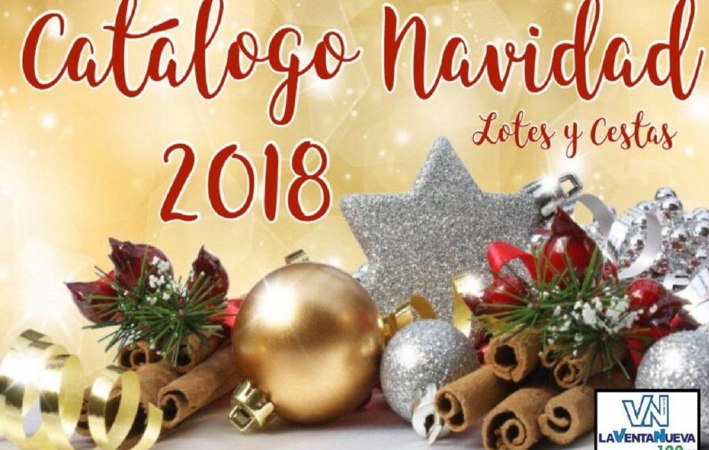 Nuevo catálogo de Lotes y Cestas de Navidad 2018 en La Venta Nueva