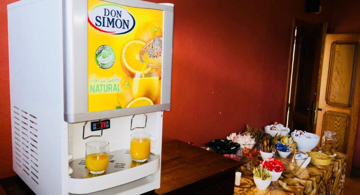 Consigue los dispensadores de Vino, Zumo y Sangría Don Simón, en La Venta Nueva