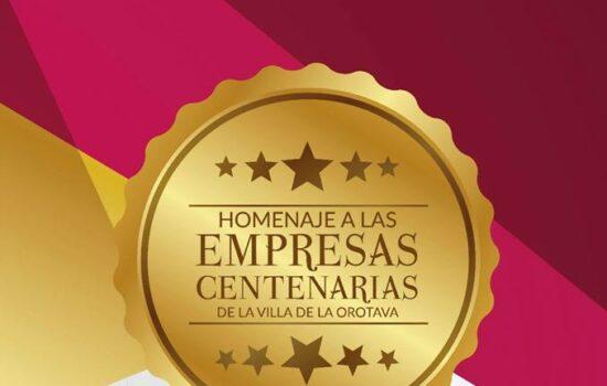 HOMENAJE EMPRESA CENTENARIA VILLA DE LA OROTAVA