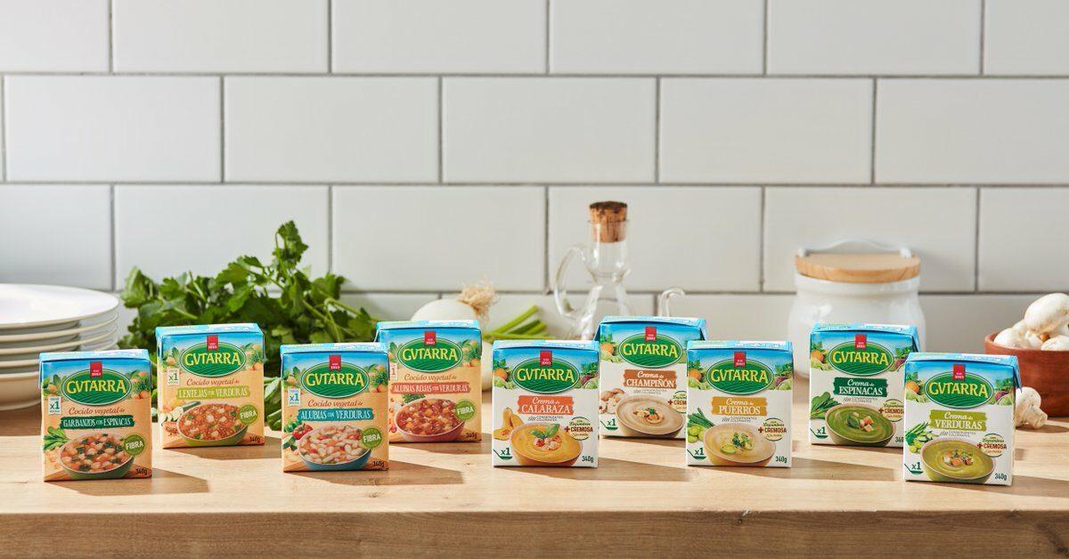 Gvtarra lanza dos nuevas gamas de  platos 100 % vegetales y naturales, Cremas y Cocidos Vegetales, ya disponibles en La Venta Nueva.
